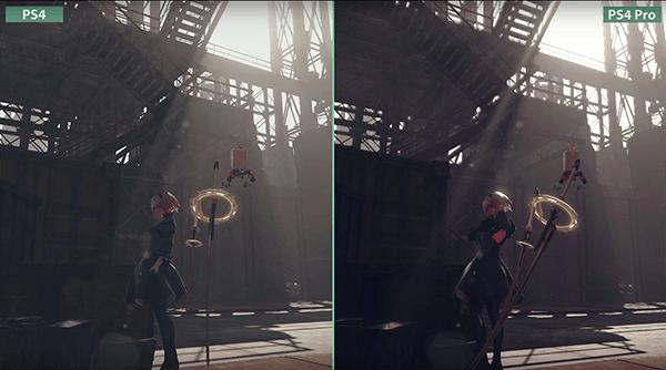 PS4とPS4 Proの画質比較