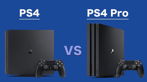 PS4とPS4 Proの性能比較