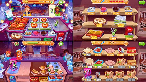 クッキング クレイズ - ハイテンポな楽しいレストランゲームのゲーム内容