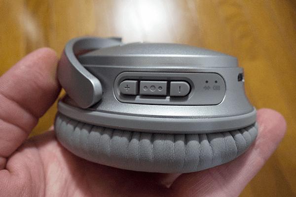 音量とマルチファンクションボタン