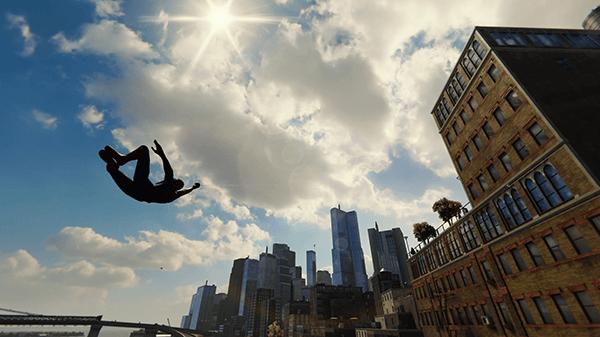 スパイダーマン_昼のニューヨーク