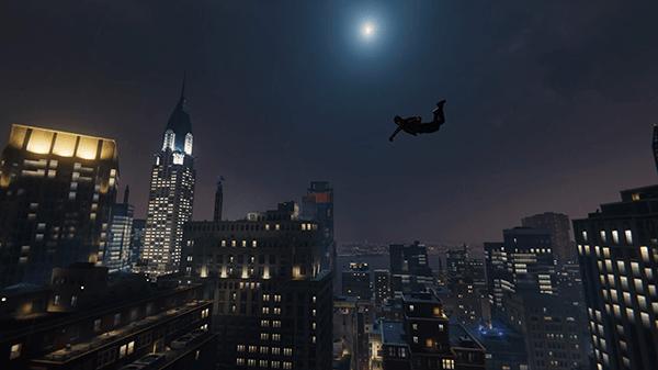 スパイダーマン_夜のニューヨーク