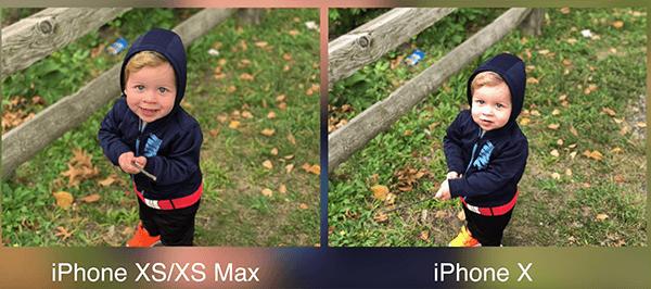 iPhoneXSとiPhone Xのカメラ比較1