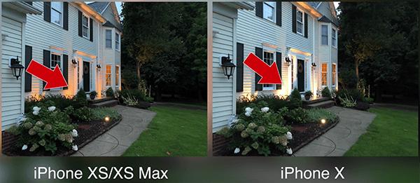 iPhoneXSとiPhone Xのカメラ比較2