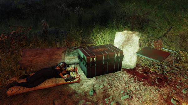 キャンプで睡眠