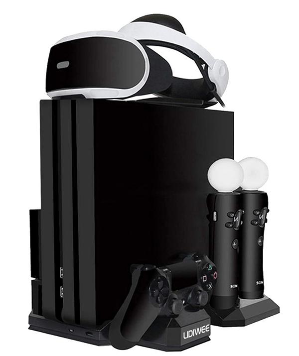 多機能PS4縦置きスタンド(LIDIWEE)