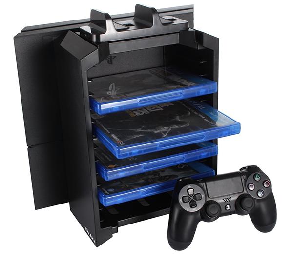 多機能PS4縦置きスタンド(KONKY)