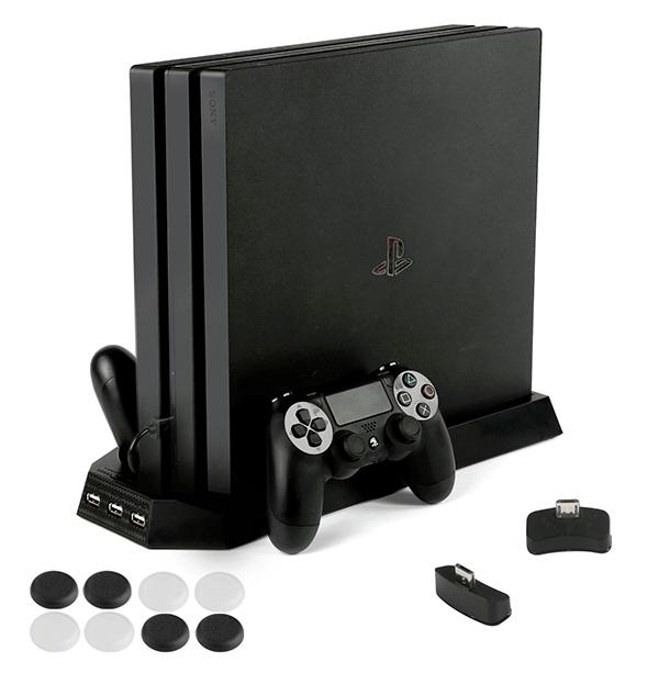 多機能PS4縦置きスタンド(PECHAM)