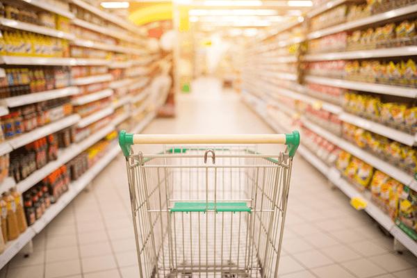 スーパーマーケットのバイト