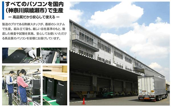ドスパラ綾瀬工場
