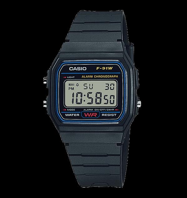 カシオ(CASIO) 腕時計 スタンダード F-91W-1JF
