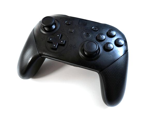 握りやすいグリップがゲームプレイの質を向上させる