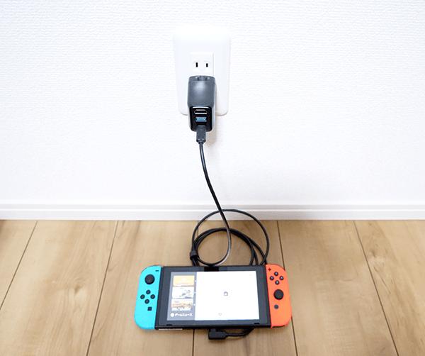 スイッチとドックを接続する