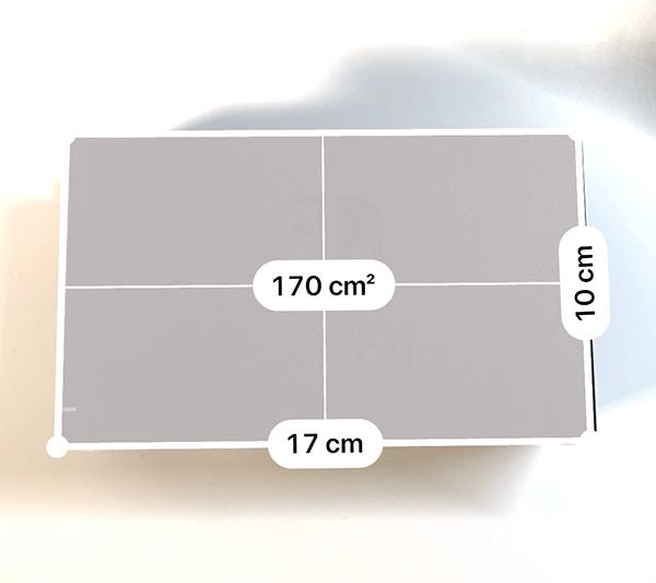 純正ドックのサイズ計測結果