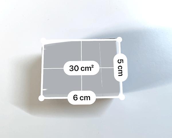 GENKI Dockのサイズ計測結果