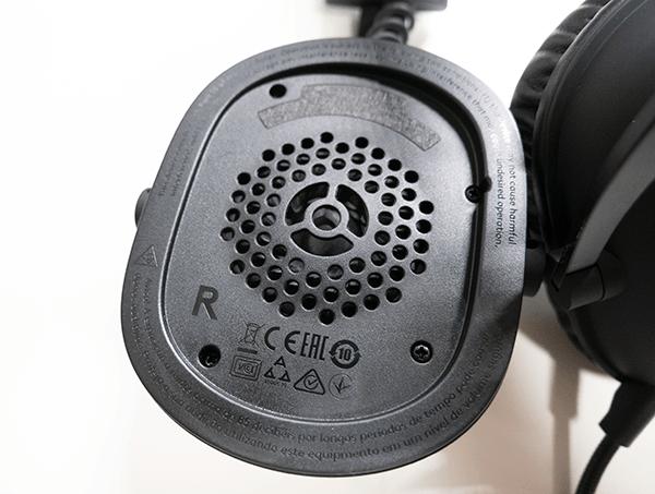 クリアな音質を実現する秘密は「PRO-G 50 MMドライバー」