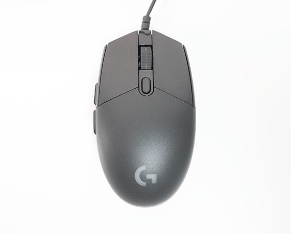 キレイな形の左右対称ゲーミングマウス