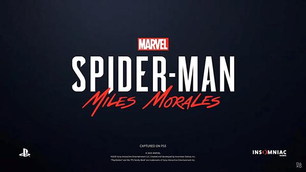 スパイダーマン マイルズ・モラレス