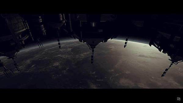 宇宙を舞台にしたアクションアドベンチャーゲーム