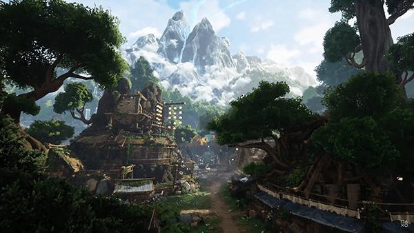 ゲームの舞台はフルCGで描かれた可愛らしい世界