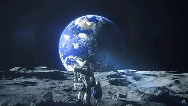 月面から眺める地球に鳥肌がたちました
