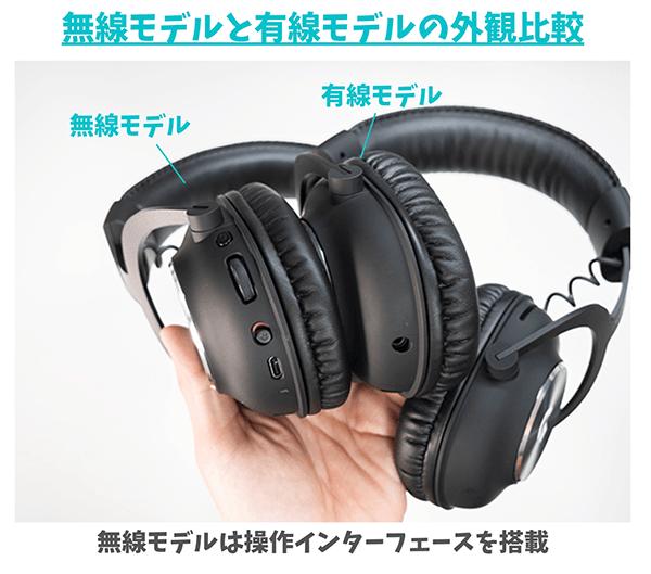 無線モデルは操作インターフェースを搭載
