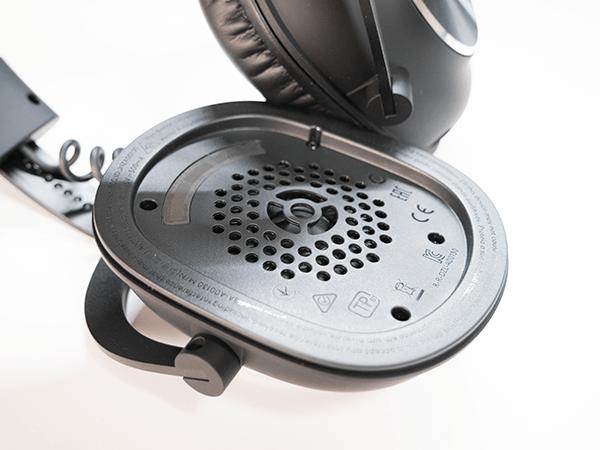 広い音域で正確なサウンドを再現するPRO-G 50ミリドライバー