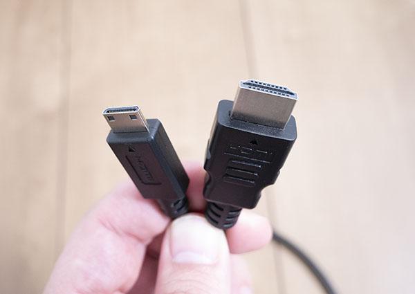 HDMIケーブル(映像出力のみ)