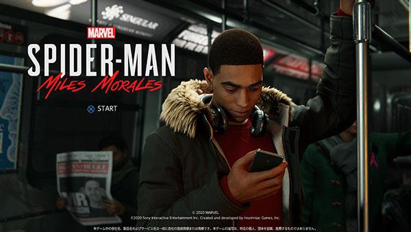 Marvel's Spider-Man- Miles Morales_メイン画面