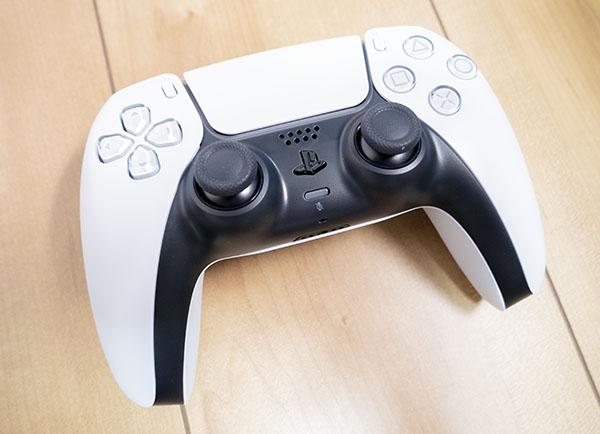 次世代機の魅力がつまった「DualSenseコントローラ」