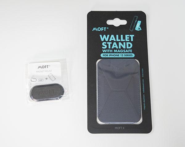 MOFT MagSafe対応Wallet standとMagnet mount
