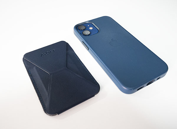 MagSafe対応MOFTとiPhone12mini