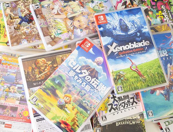 パッケージ版のゲームソフトは収納と出し入れが面倒くさい