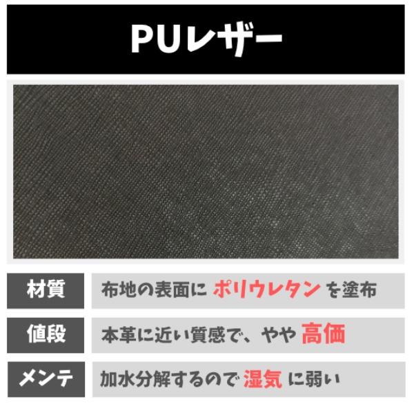 PUレザーの特徴