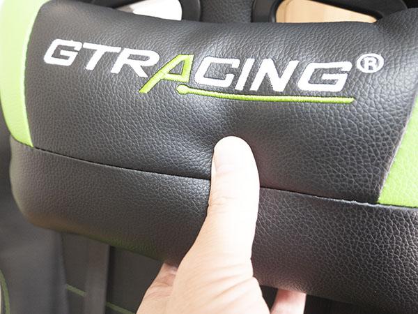 GTRacingのヘッドレスト