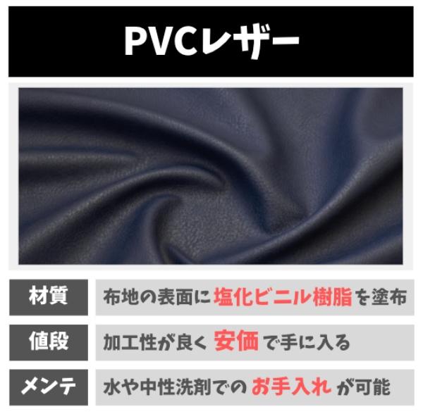 PVCレザーの特徴
