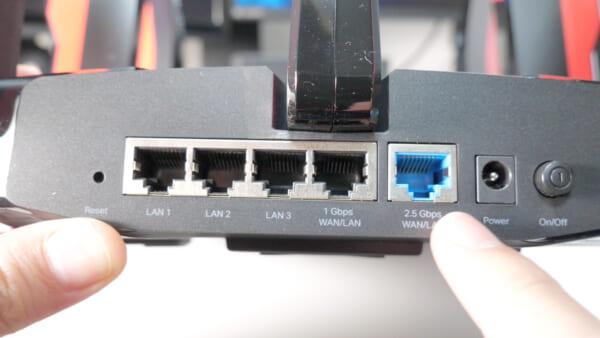 有線接続は最強です!